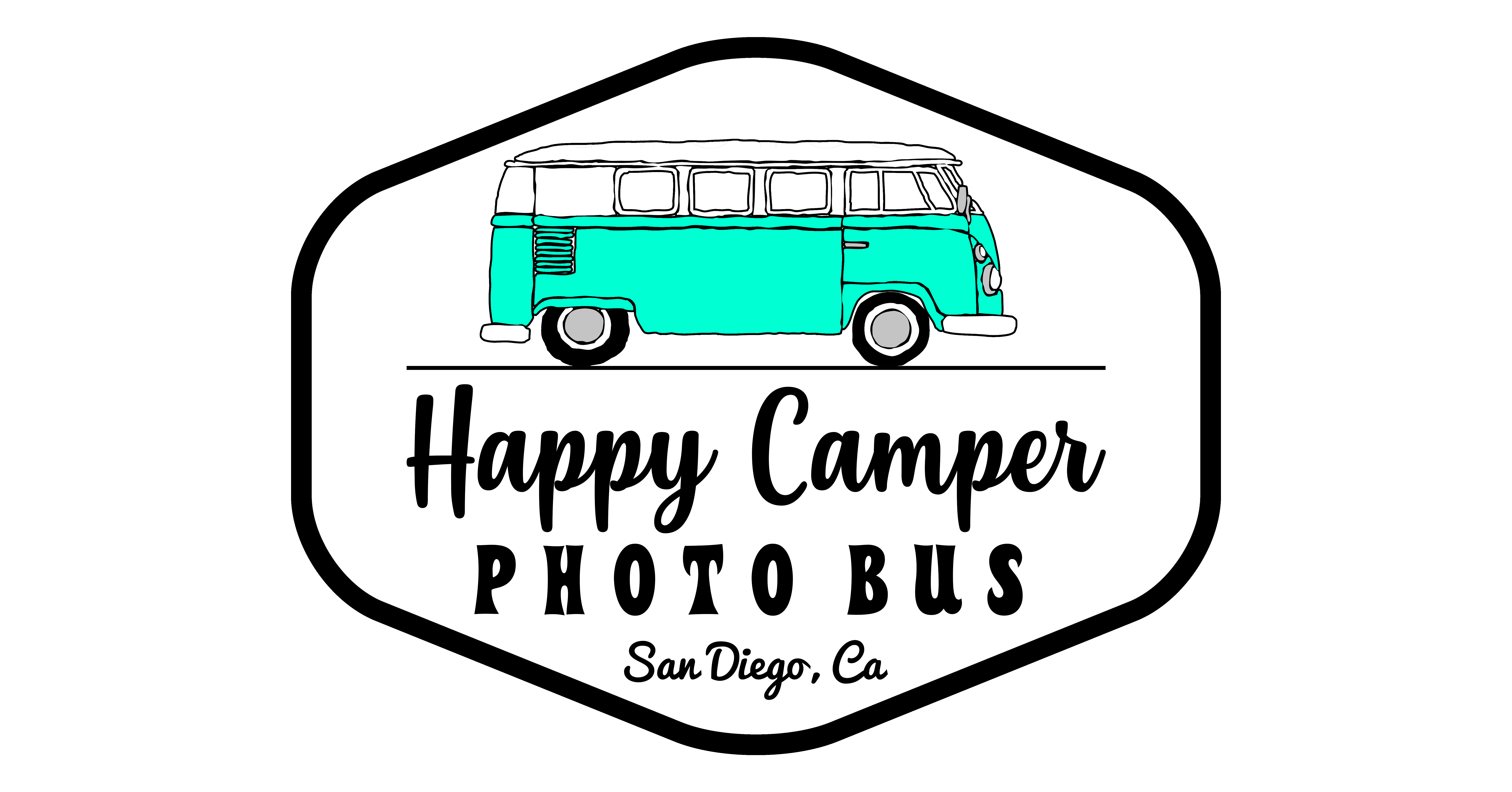 Happy Camper Photo Bus