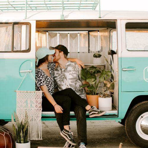 Happy Camper Photo Bus